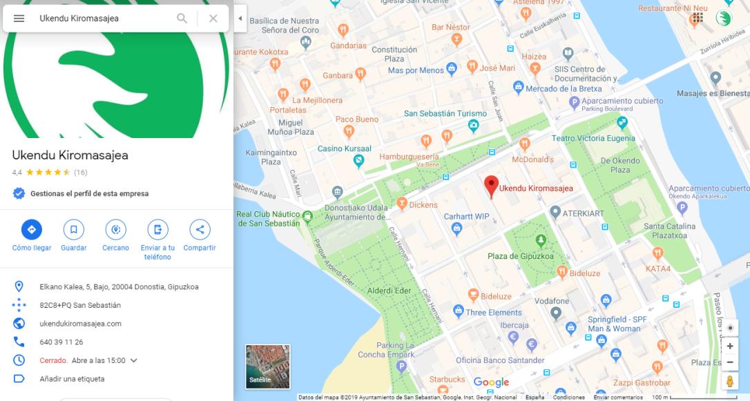 Ukendu Kiromasajea Maps